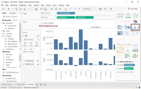 Grouped Bar Chart In Tableau