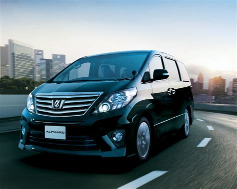 Toyota Alphard Picture by 2013 Toyota Alphard Pictures Information And Specs