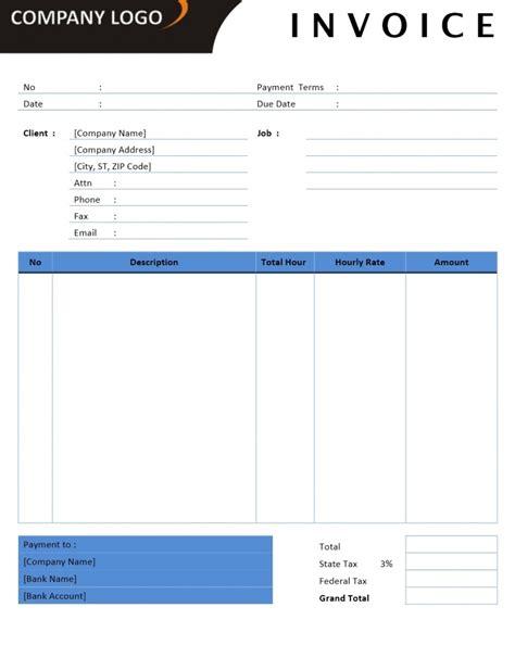 microsoft office billing invoice templates