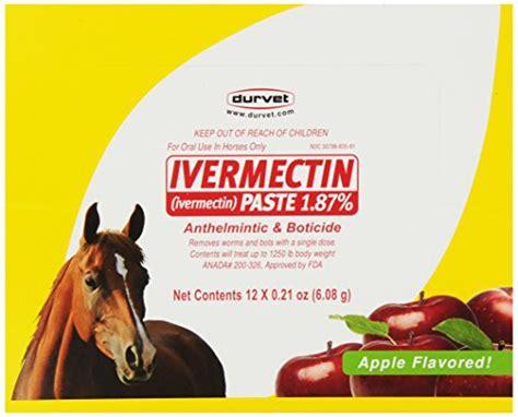 paste dewormer ivermectin horses durvet pack horse wormer pyrantel amazon pet 6gm