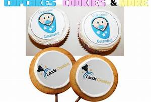 print your logo or vector on edible stickers to put on With edible labels for cookies