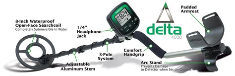 Amazon Teknetics Delta Metal Detector