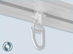 Vorhang Für Vorhangschiene by Drehgleiter F 252 R Vorhangschiene Kunststoff Wei 223 F 252 R