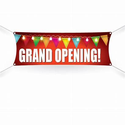 Opening Grand Banner Transparent Open Hours Nautical
