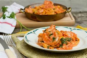 Scampi tomatensaus jeroen meus