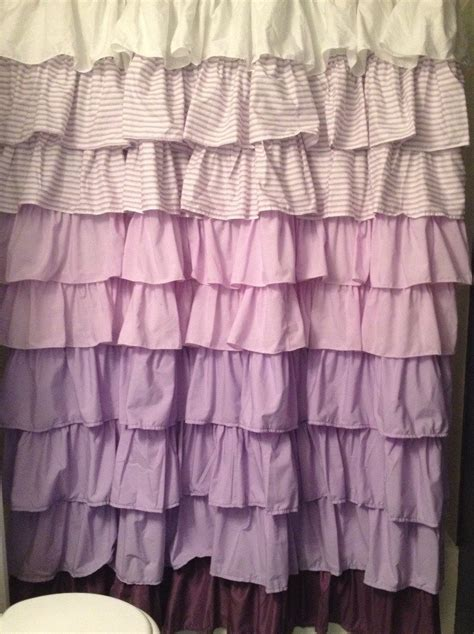 Light Purple Ruffle Curtains by Chandeliers Pendant Lights