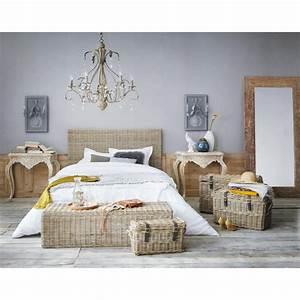 Tete De Lit Maison Du Monde : t te de lit en rotin kubu et mahogany massif l 140 cm ~ Melissatoandfro.com Idées de Décoration