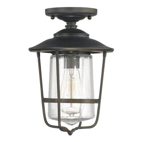 single bulb flush mount light creekside 1 light outdoor ceiling flush mount in old
