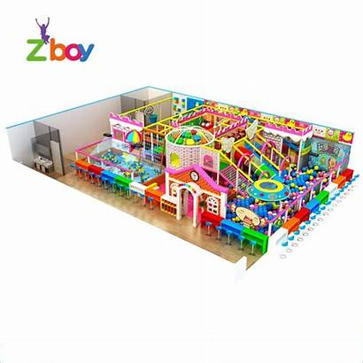 Playground Indoor Equipment Children Amusement European Commercial