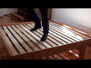 02 How To Build A Bed • Platform Bed Assembly - YouTube
