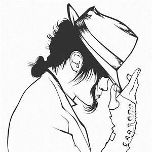 Dibujos Para Pintar De Michael Jackson Colorear Imgenes