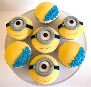 cinderella cupcake toppers minions cupcakes