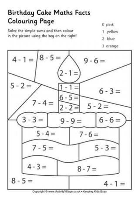 related pictures math facts colouring pages cakepins com