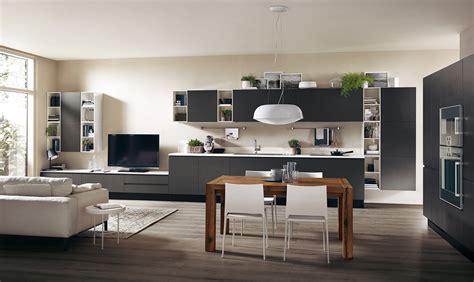 la parete multifunzione  cucina  living casafacile