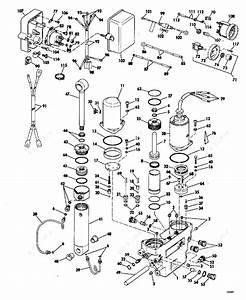 Evinrude 1977 175 - 175749s  Power Tilt And Trim