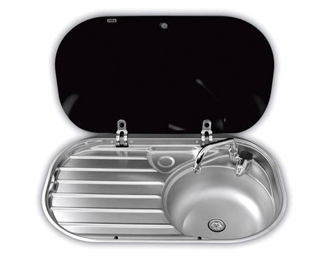 dometic smev  sink drainer  glass lid