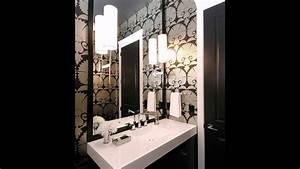 Tapete Für Badezimmer : art deco tapete f r das badezimmer youtube ~ Watch28wear.com Haus und Dekorationen