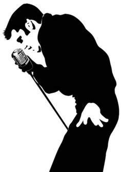 elvis presley black and white photo - Google Search
