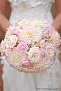 Pink Ranunculus Wedding Bouquet