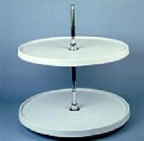 24 inch lazy susan 24 inch circle lazy susan 2 shelf white 6012 24 11 52 3839