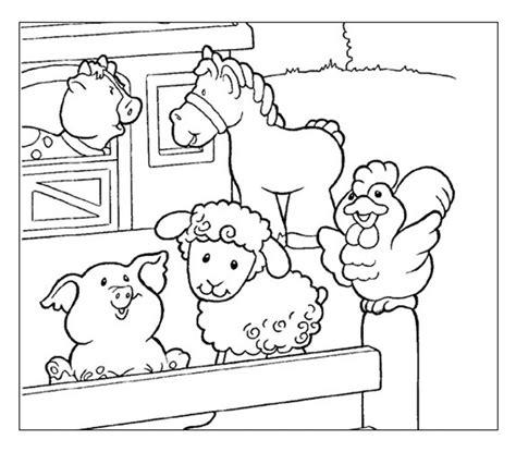 animali fattoria disegni