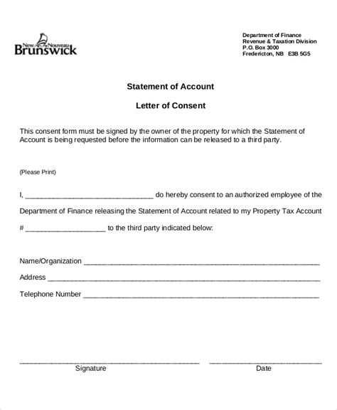 statement letter tipsenseme