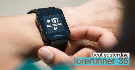 Garmin Forerunner 35 นาฬิกาจีพีเอสคู่ใจนักวิ่ง ใช้งานง่าย