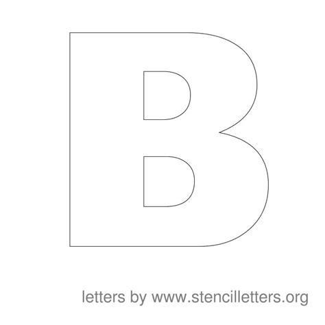large stencil letters large alphabet stencils