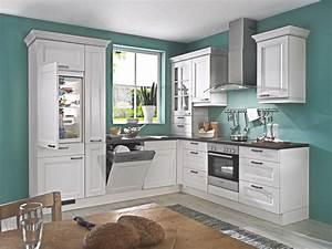 Kleine magnolie landhaus l kuche 3333 nur die kuechen for Kleine landhausküche