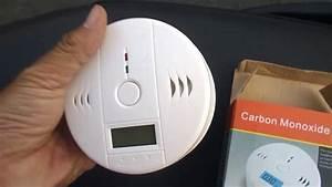 Home Security Co Gas Sensor Carbon Monoxide Poisoning