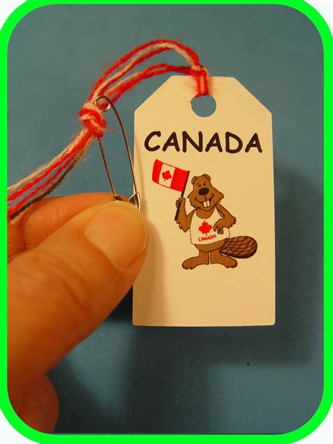 Canada Canadian Beaver Scout Swaps Craft Kit