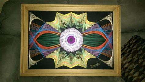 arte  hilos  clavos home decor decor frame