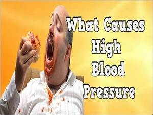 What Causes High Blood Pressure, Cause Of High Blood ...