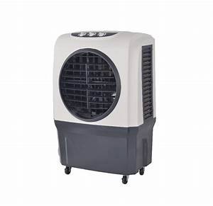 Manual Control Panel Mobile Indoor Air Cooler By Water