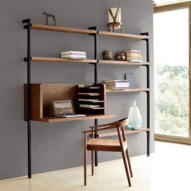amenagement bureau design un aménagement bureau étagères bois design la redoute
