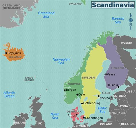 Which For The Nordic Countries Nordic Countries Travel Guide At Wikivoyage