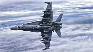 Weapons Loaded F  A-18 Hornet  U2022 Banking In The Sky