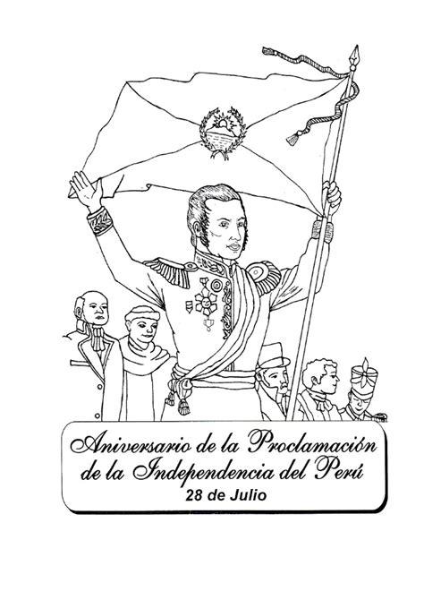 Dibujos Para Pintar Fiestas Patrias Peru - ARCHIDEV