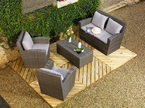 table de jardin en resine tressee table de jardin en resine tressee 4 salon hawa239 en r233sine tress233e vtpie