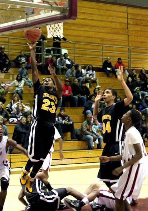 cleveland heights boys basketball team falls  bedford