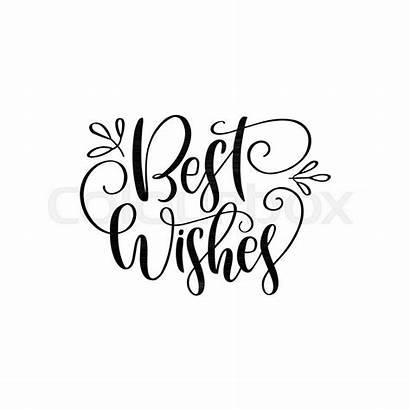 Wishes Lettering Drawn Composition Composizione Iscrizione Disegnata