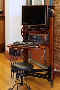 Camera, Bellows, Computer, Workstation