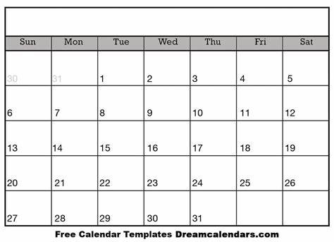 We have all the free calendars you need! Blank Calendar - Printable Blank Calendar 2021
