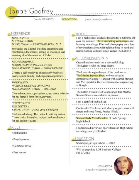 Resume Key Phrases by Resume I Like How Key Phrases Are Highlighted