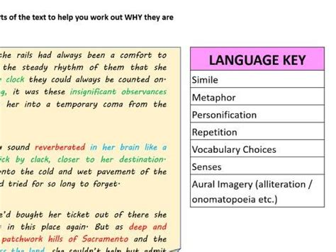 I wanna know which languages are supported and each language's corresponding code which is used in the html element's lang attribute. English Language Paper 1 Question 5 Resource with MODEL ANSWER | Teaching Resources