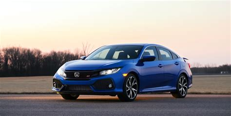 honda civic 2017 honda civic si arrives tomorrow at 24 775 the