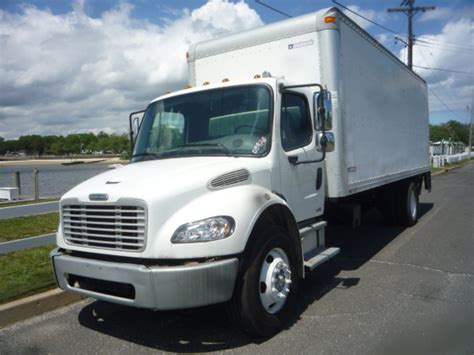 freightliner trucks for sale used 2008 freightliner m2 box van truck for sale in nj 11184