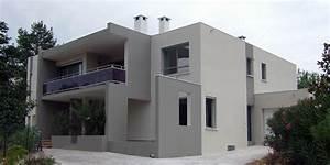 atelier d39architecture banegas extensions extension 347 With plan de belle maison 16 187 containers