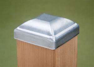 Volt Landscape Lighting Free Shipping Standard Galvanized Post Cap