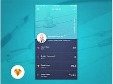 Profile Page Day72 My UIUX Free Sketch App Challenge by